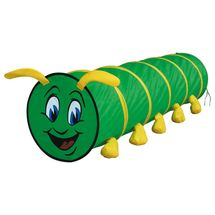 Bino - 82805 prolézací tunel housenky zelená