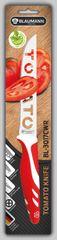 BLAUMANN - Nůž na rajčata čepel 12,5 cm červený, BL-3017CWR