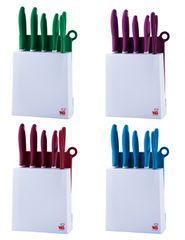 BLAUMANN - Sada 4 nože, 1 nůžky a stojan, BL-1341