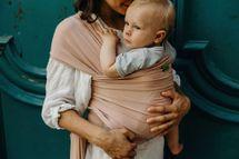 BOBA - Nosič dětí / šátek Boba Wrap Bamboo Bloom