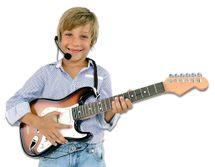 BONTEMPI - Elektrická rocková kytara s mikrofonem 241310