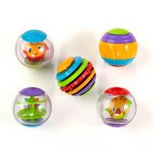 BRIGHT STARTS - Hračka Shake & Spin Activity Balls, 3m +