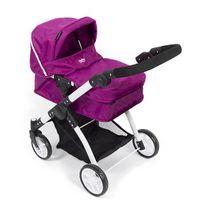 BRITAX - Kočárek pro panenky Smile 3 v 1, 2015, fialová