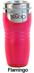 BRUGO - Termohrnek 450 ml - Flamingo