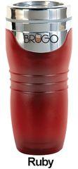 BRUGO - Termohrnek 450 ml - Ruby
