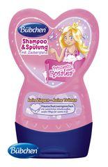 BÜBCHEN - Kids šampon a ošetřující balzám na vlasy 2v1 Princezna Rosalea 230 ml