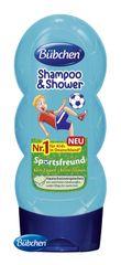 BÜBCHEN - Kids šampon a sprchový gel 2v1 Malý fotbalista 230 ml