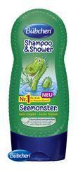 BÜBCHEN - Kids šampon a sprchový gel 2v1 Mořská příšerka 230 ml