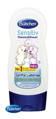 BÜBCHEN - Kids šampon a sprchový gel 2v1 sensitiv Jemný miláček 230 ml
