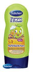 BÜBCHEN - Kids šampon a sprchový gel 2v1 Zelené jablíčko 230ml