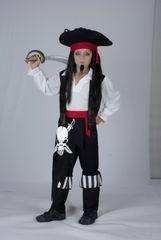 CASALLIA - Karnevalové oblečení Pirátský kapitán