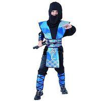 CASALLIA - Karnevalový kostým Ninja modrý M