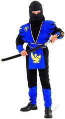 CASALLIA - Kostým Ninja modrý L