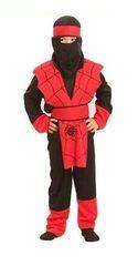 CASALLIA - Karnevalový kostým Ninja pavouk
