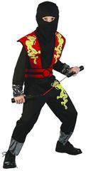 CASALLIA - Karnevalový kostým Ninja s maskou M