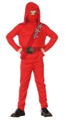 CASALLIA - Kostým Ninja v červeném obleku M