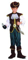 CASALLIA - Karnevalový kostým Pirátský kapitán