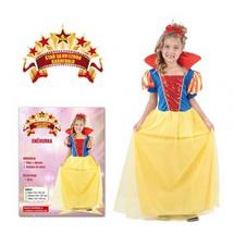 CASALLIA - Karnevalový kostým Sněhurka (velikost S)