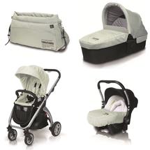 CASUALPLAY - Kočárek Kudu 4 alluminium, autosedačka Baby 0plus, vanička Metropol a Bag (2014)