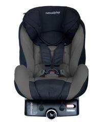 Casualplay - Autosedačka Q-retraktory Fix 9-18 kg (2014) - Grey black