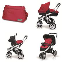 CASUALPLAY - Kočárek S4, autosedačka Baby 0plus, vanička Metropol a Bag (2014)
