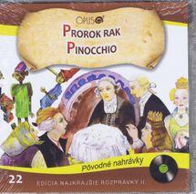 CD-Najkrajšie rozprávky 22- Prorok rak,Pinocchio
