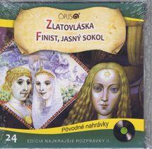 CD-Najkrajšie rozprávky 24- Zlatovláska,Finist jasný sokol