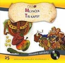 CD-Najkrajšie rozprávky 25- Mlynček / Tri kapsy - Kolektív