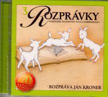 CD-Najkrajšie rozprávky P. Dobšinského(3)