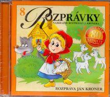 CD - Rozprávky - rozpráva Ján Kroner(8) -
