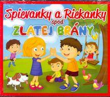 CD-Spievanky a Riekanky spod Zlatej Brány-2CD