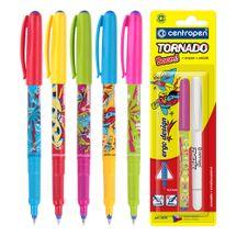CENTROPEN - Pero kuličkové 2675/2 Tornado Blue + zmizík