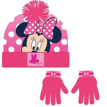 CERDÁ - Zimní set-čepice, rukavice Minnie