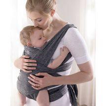 CHICCO - Nosič dětí / šátek BOPP Comfy Fit Grey 2v1