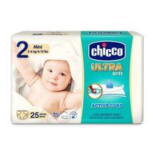 CHICCO - Jednorázové pleny Ultra Mini 3-6kg 25ks