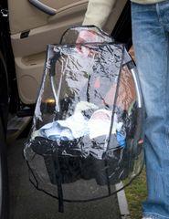 CLIPPASAFE - Pláštěnka na autosedačku