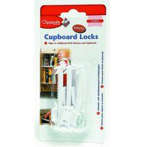 CLIPPASAFE - Pojistka skříněk zásuvek 6 kusů