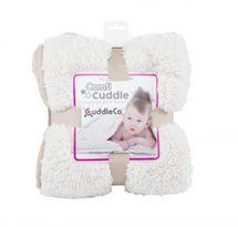 CUDDLEME - CUDDLECO Super měkká oboustranná dětská deka, Mink