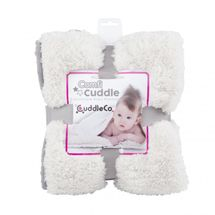 CUDDLEME - CUDDLECO Super měkká oboustranná dětská deka, Pebble