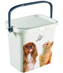 CURVER - Box na krmivo pro psy a kočky 6 l