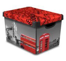 CURVER - Dekorativní úložný box - L - London
