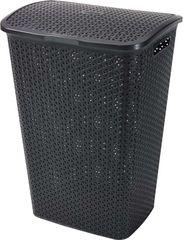 CURVER - Koš na špinavé prádlo Y Style Rattan 55 l - hnědý
