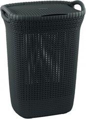 CURVER - Plastový koš na špinavé prádlo 57 l - hnědý