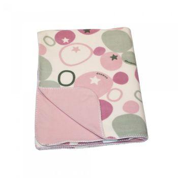 DELTA BABY - Doomoo DREAM deka 100x150 fleece, DW62 Stones Pink