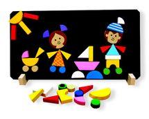 DETOA - Děti Magnetické Puzzle