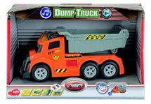DICKIE - As Dump Truck 15 Cm, Světlo, Zvuk