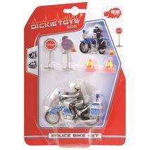 DICKIE - Policejní Motorka 10 Cm, Přísl.