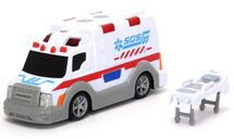 DICKIE TOYS - 3302004 Ambulance 15 cm se světlem a zvukem
