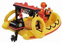 DICKIE TOYS - Požárník Sam Záchranný člun Neptun s figurkou 9251660