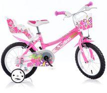DINO BIKES - Dětské kolo 146R se sedačkou pro panenku a košíkem - 14